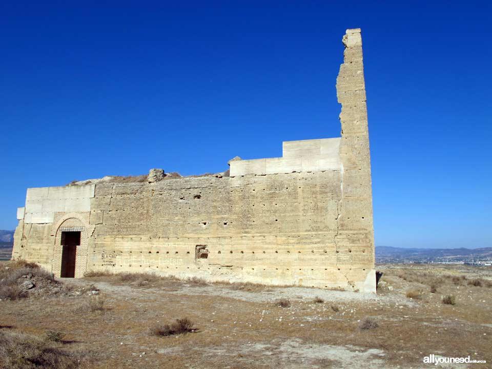 Guide of Castles in Murcia. Alcalá Castle in Mula. Spain