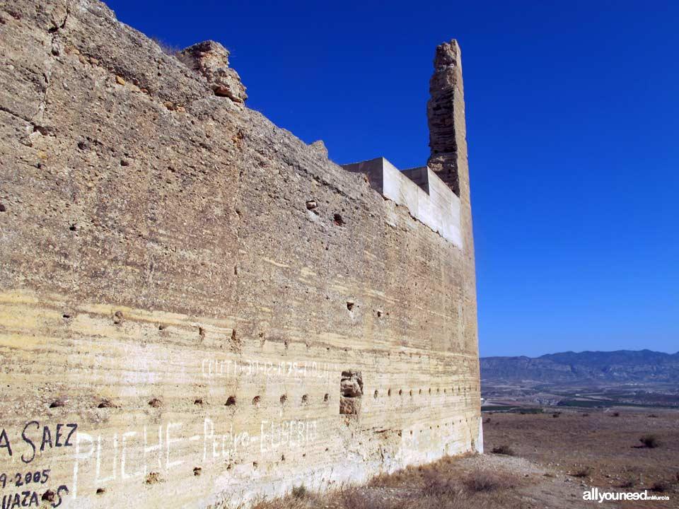 Castillo de Alcalá e Mula. Murcia. Castillos de España