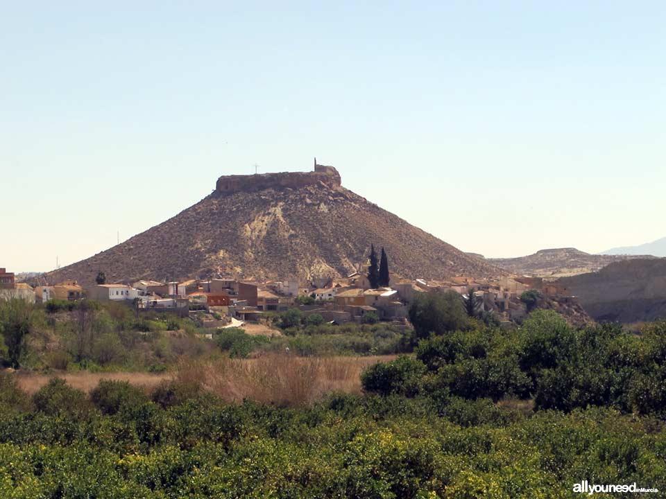 Castillo de Alcalá en Mula. Murcia. Castillos de España