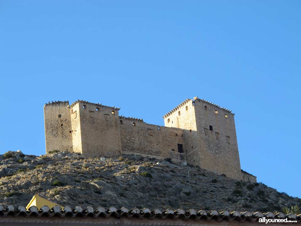 Vélez Castle. Mula in Murcia. Castles of Spain