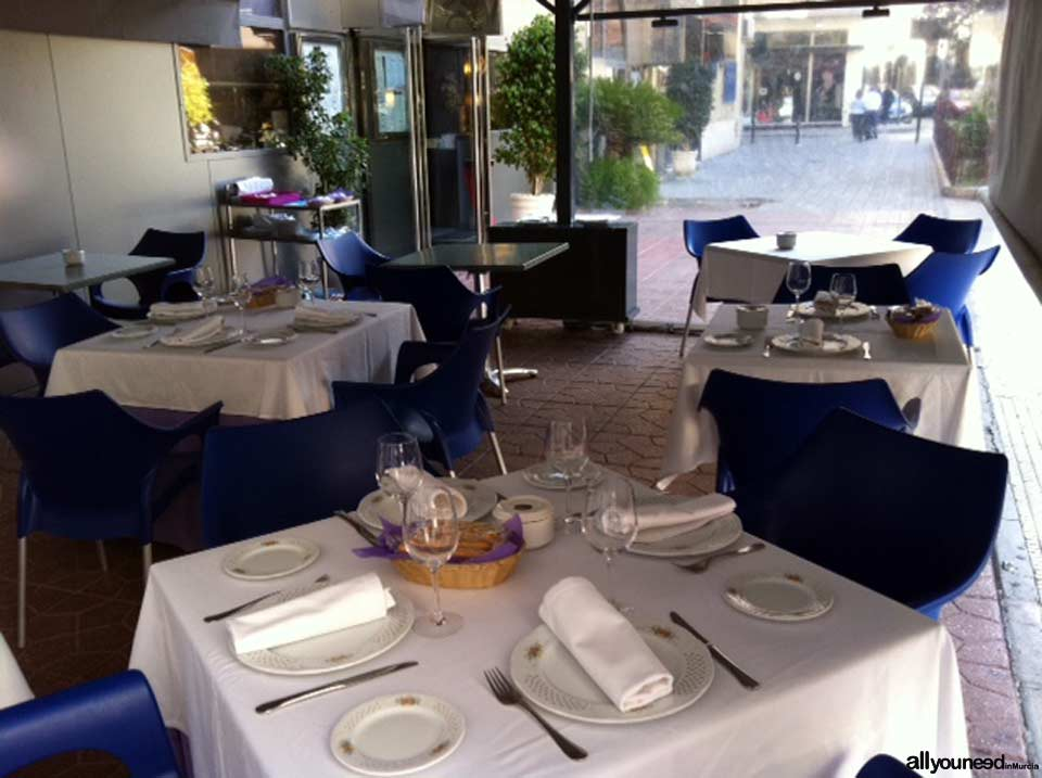 Restaurante la Onda en Murcia