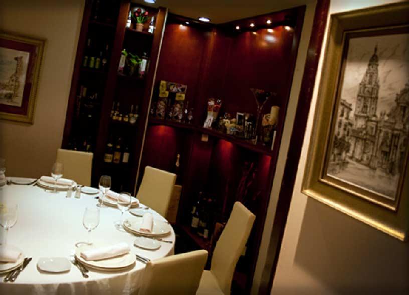 Restaurante Salzillo en Murcia, una de las mejores cocinas