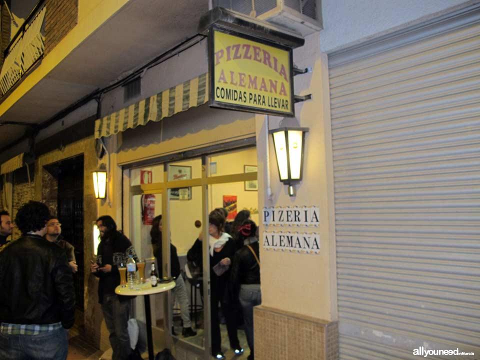 Pizzeria Alemana en Murcia. Riquísimas pizzas artesanas