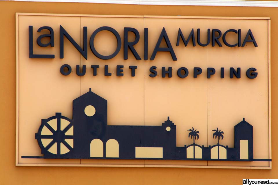 La Noria Outlet Shopping Center in Murcia