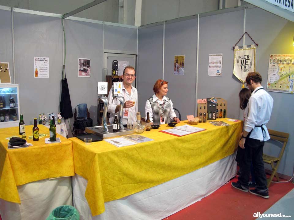 "Cervetri y más. Cervezas artesanas. Feria de Torre Pacheco ""hecho a mano"""