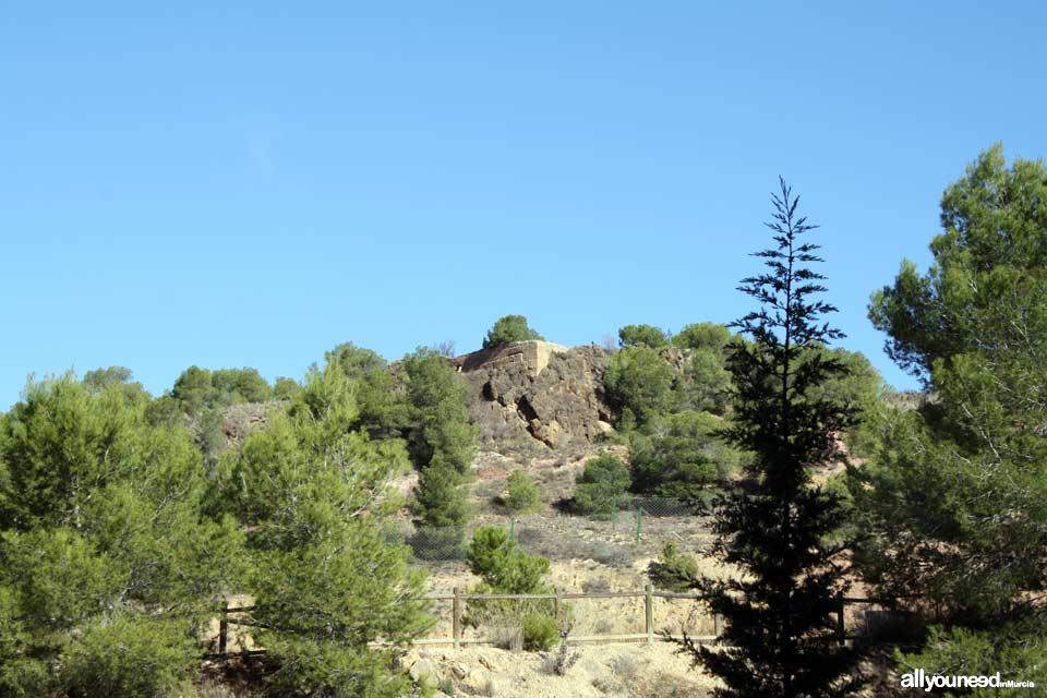 Castillo del Portazgo. Parte alta. Murcia | Castillos de España