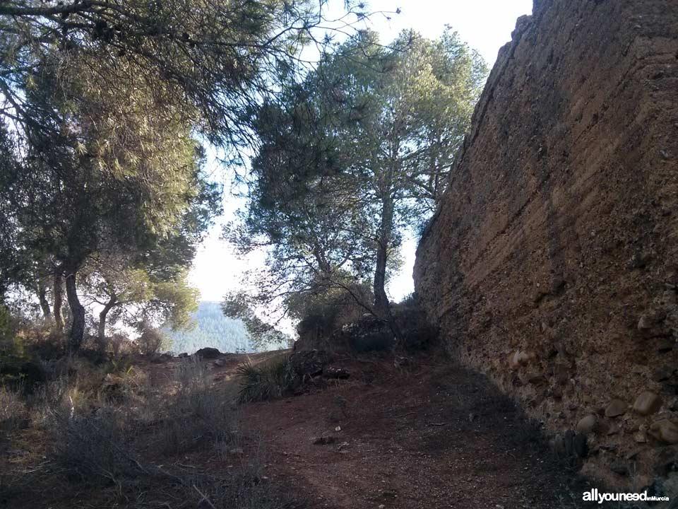 Portazgo Castle. Top