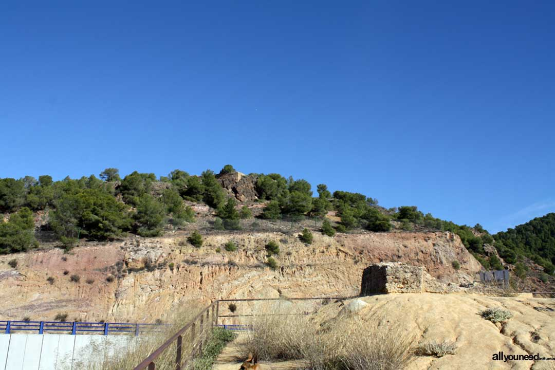 Castillo del Portazgo. Parte baja. Puerto de la Cadena. | Castillos de Murcia