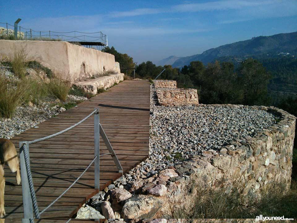 Sendero Cultural de El Valle. SL-MU7. Santuario íbero de la Luz