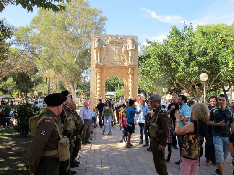 Recreación Bélica histórica en Murcia