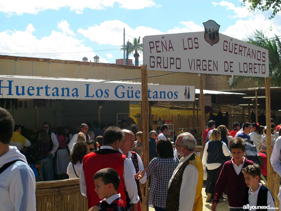 Barracas. Fiestas de Primavera de Murcia