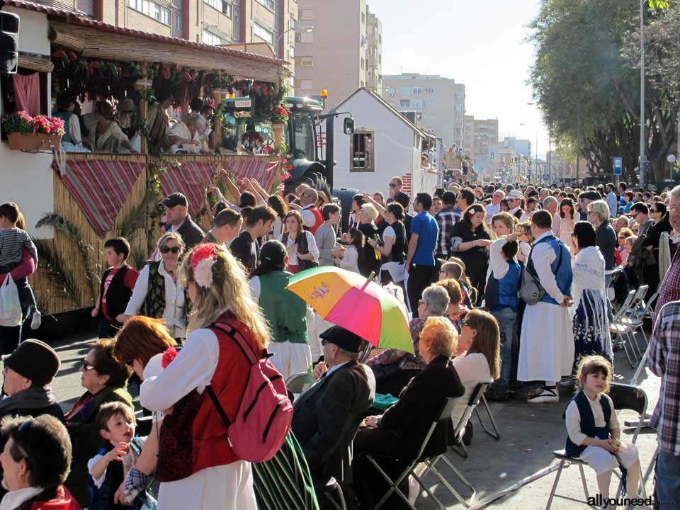 Desfile del Bando de la Huerta en Murcia