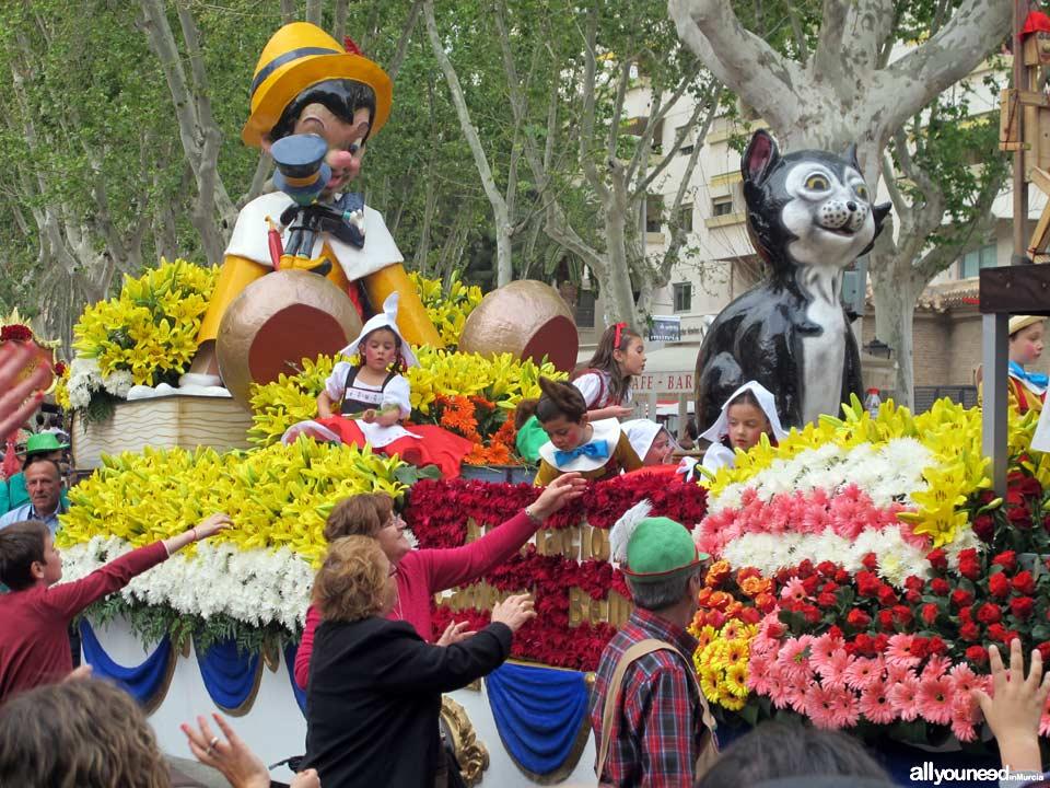 Murcia en Primavera. Batalla de las Flores