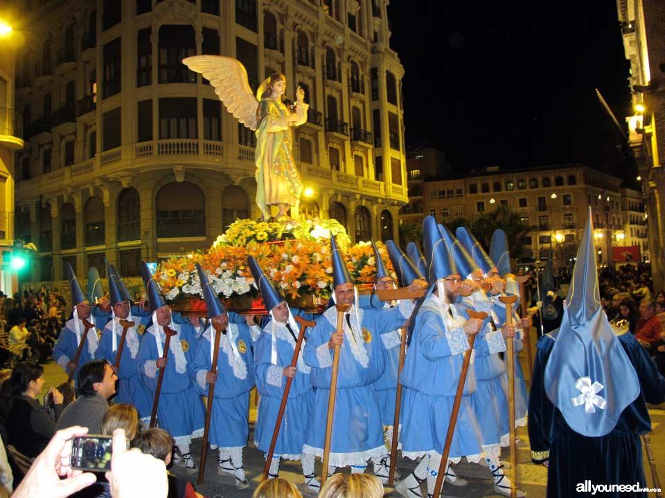 Easter in Murcia. Viernes de Dolores