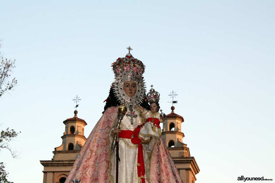 Murcia's September Fair. Our Lady of Fuensanta