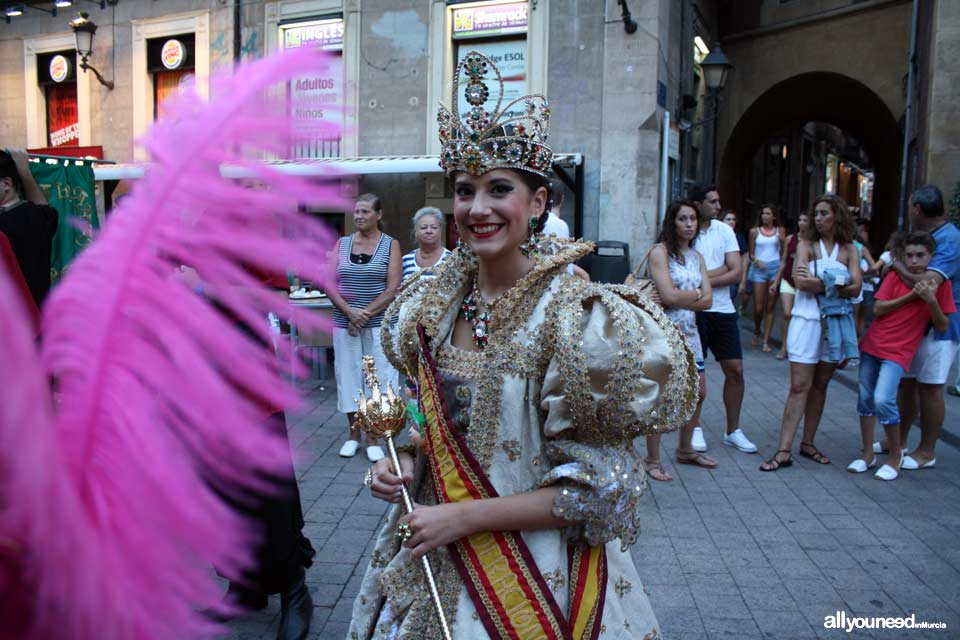 Fiesta de Moros y Cristianos. Feria de Septiembre en Murcia