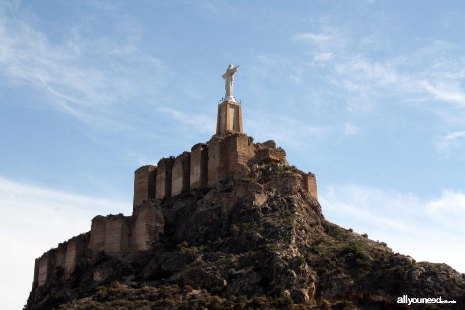 Guide of Castles in Murcia. Monteagudo Castle. Spain