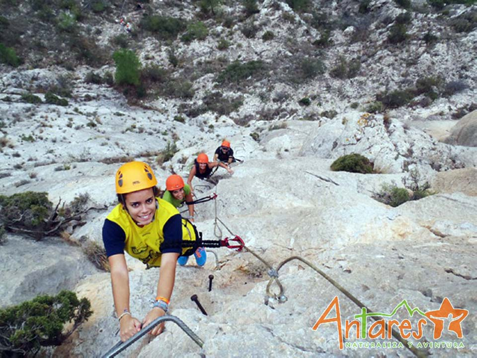 Antares Naturaleza y Aventura. Environmental education, adventure tourism.