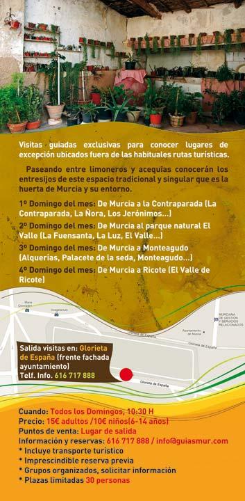 Guiasmur. Visitas guiadas por Murcia