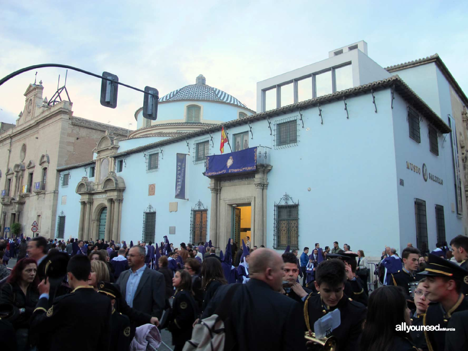 Church of Our Father Jesus in Murcia. Good Friday