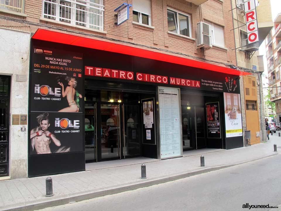 Teatro Circo de Murcia. Obras de Teatro. Programación. Teatros