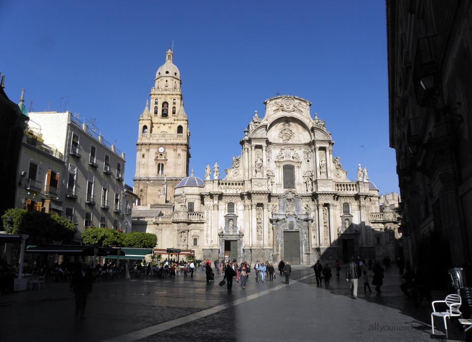 Tourism in Murcia, a hang-up free region. Murcia