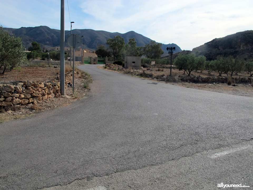 Ruta Calas el Bolete Grande, Boletes y Aguilar. Desvío camino de Boletes