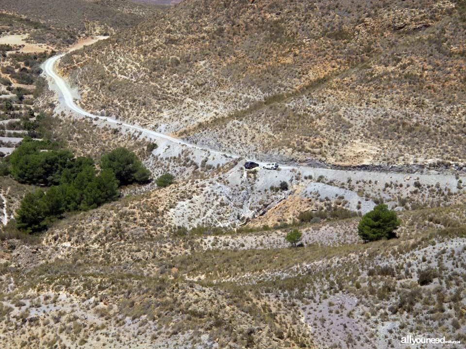Ruta Calas el Bolete Grande, Boletes y Aguilar. Aparcamiento