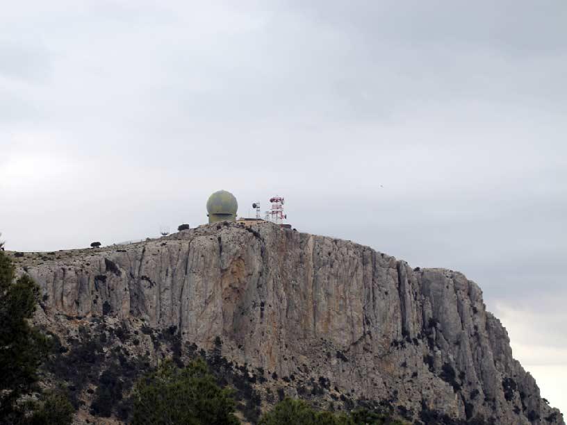 Escuadrón de Vigilancia Aérea -EVA- en Sierra Espuña