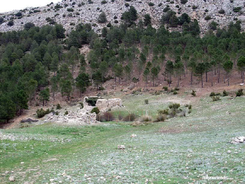 Pozos de la Nieve de Murcia en Sierra Espuña