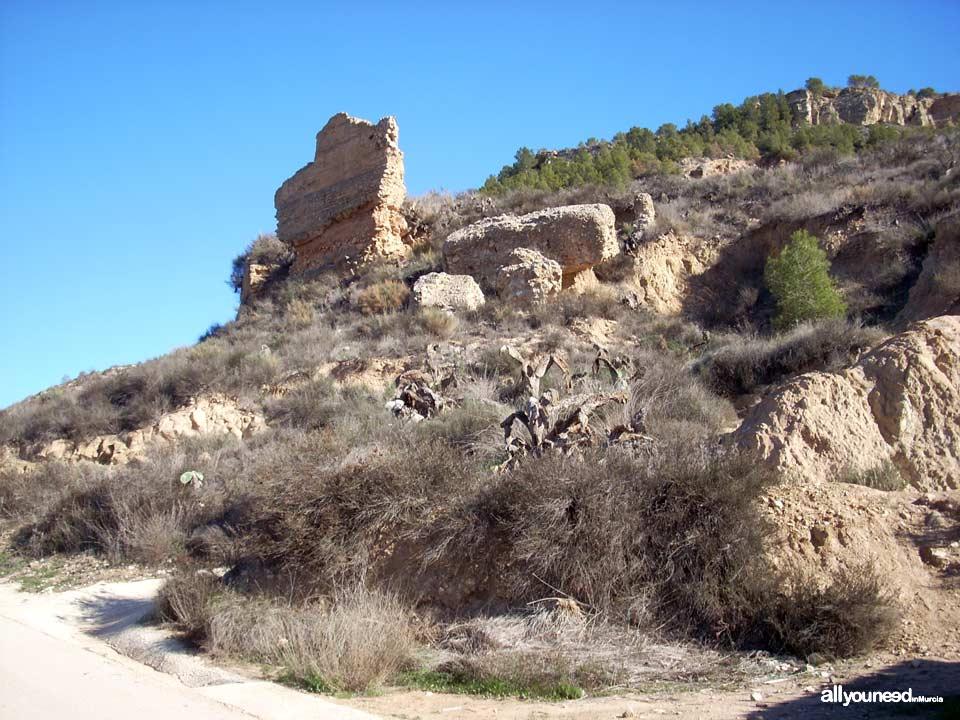 Castillo de las Paleras. Poblado de la Mota