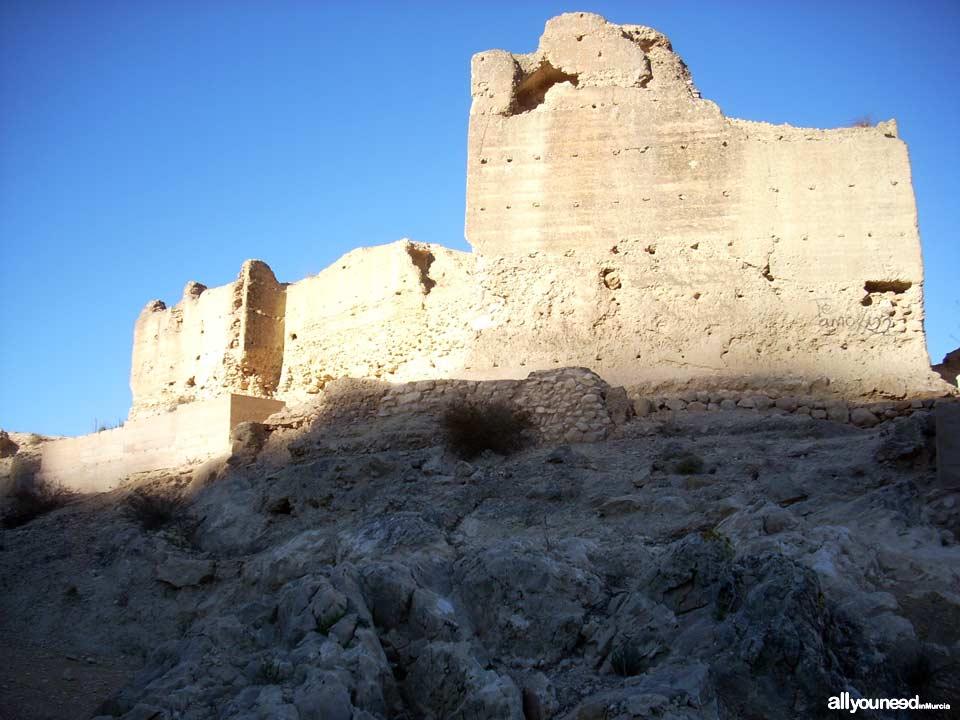 Castillo de Pliego. Castillos de Murcia