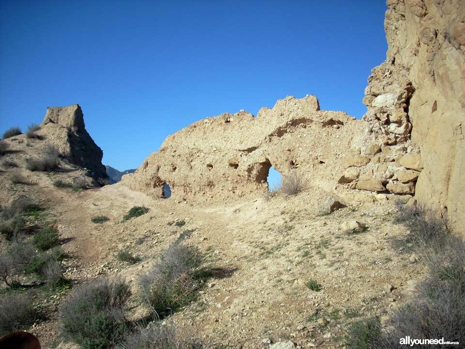 Castillo de Ricote. Castillo de Los Peñascales