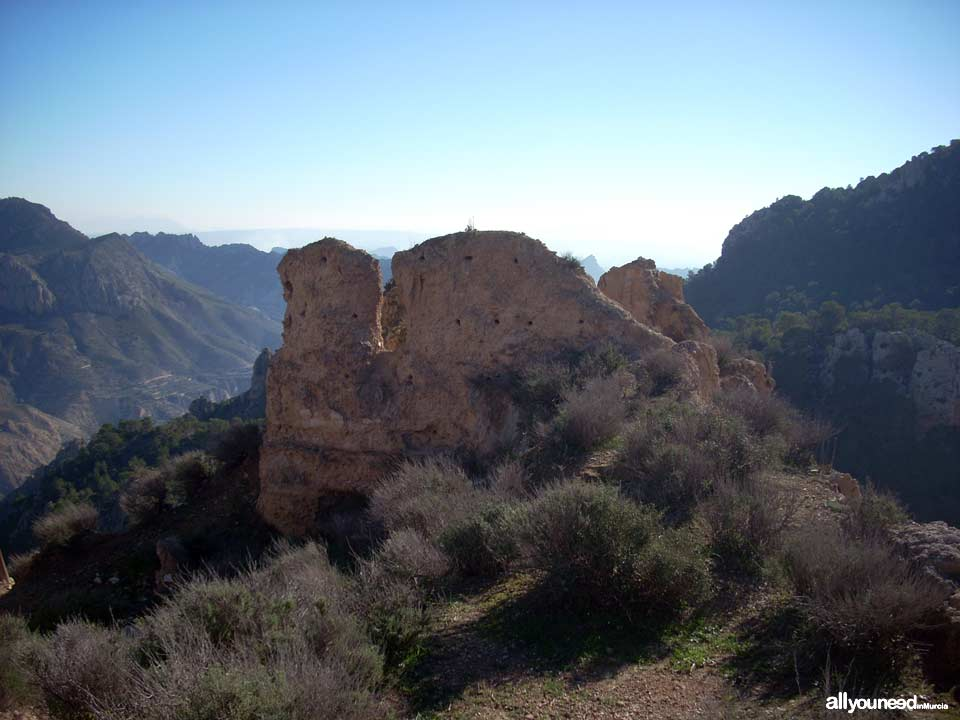 Ricote Castle. Peñascales castle