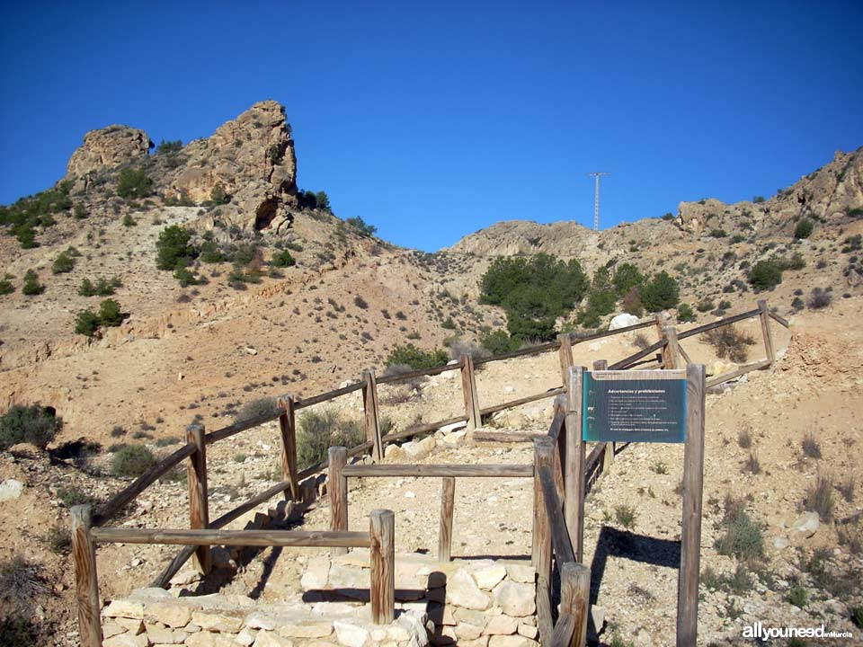 Trail to the Castle of Ricote PR-MU 39