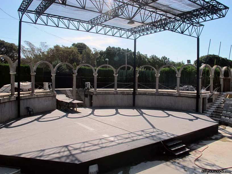 Auditorio Parque Almansa en San javier