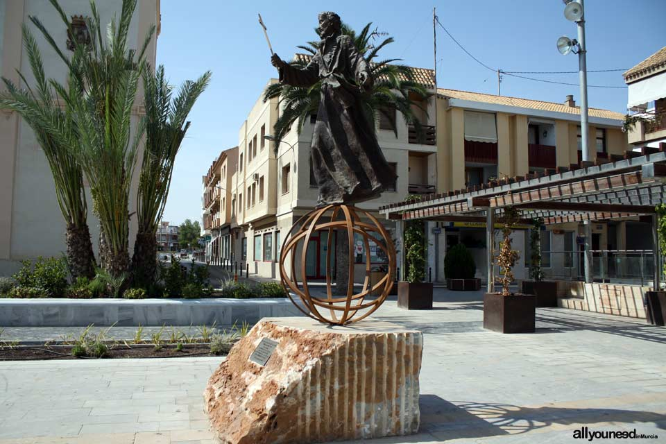 Sculpture of San Francisco Javier