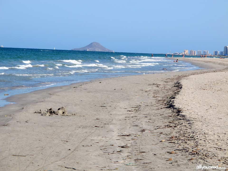 Playa de la Barraca Quemada