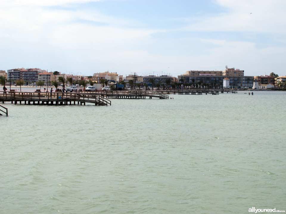 Playas de Murcia. Playa de la Mota y Salinas de San Pedro del Pinatar