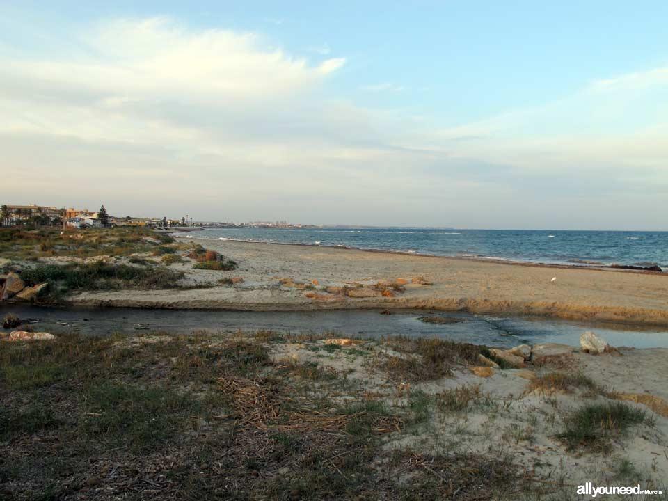 Mojón Beach. San Pedro del Pinatar