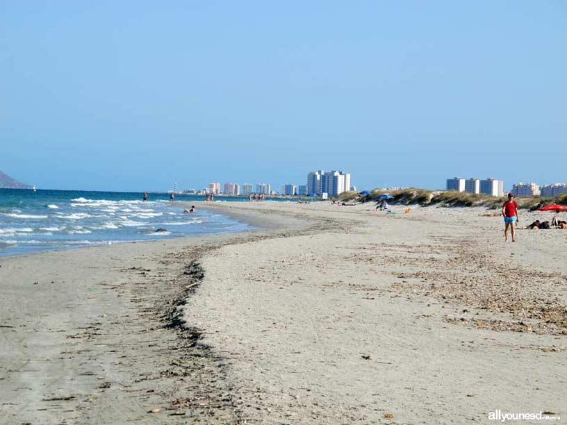 Sendero de Las Encañizada. Playa de la Barraca Quemada