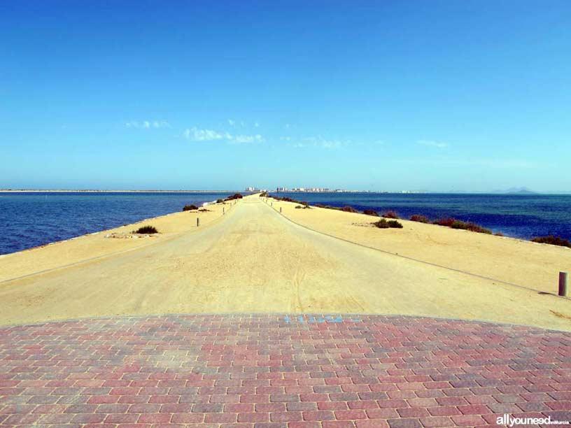 Sendero de Las Encañizada. Paseo playa de la Mota