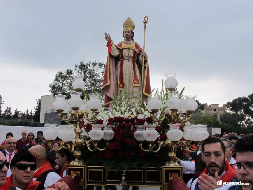 Romería de San Blas en Santiago de la Rivera. San Javier