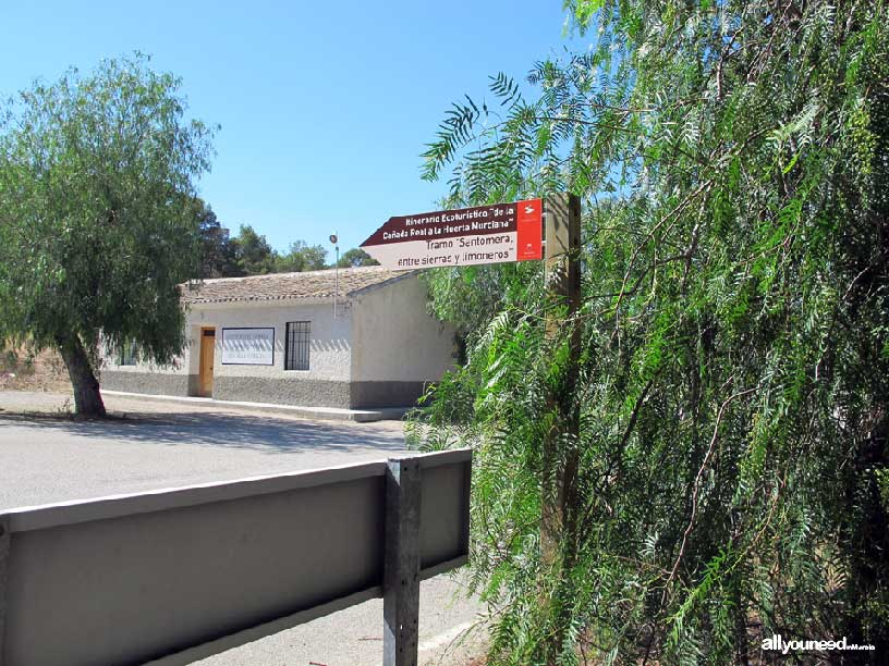 Embalse de Santomera. Casa de la Nauraleza