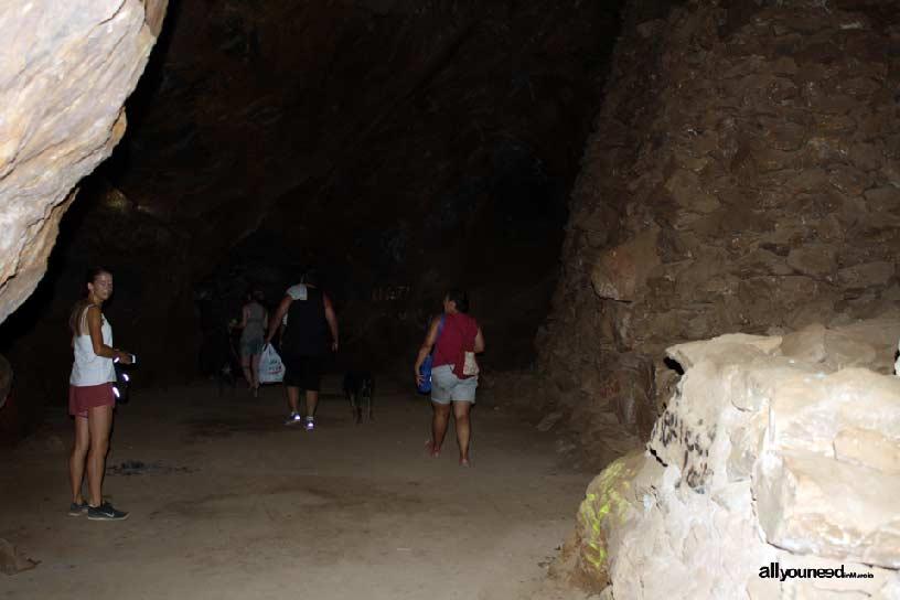 El Cabezo Gordo en Torre Pacheco. Cueva del agua. Acceso al lago