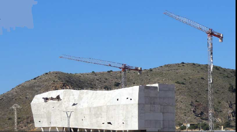 El Cabezo Gordo in Torre Pacheco.Future Museum of Paleontology