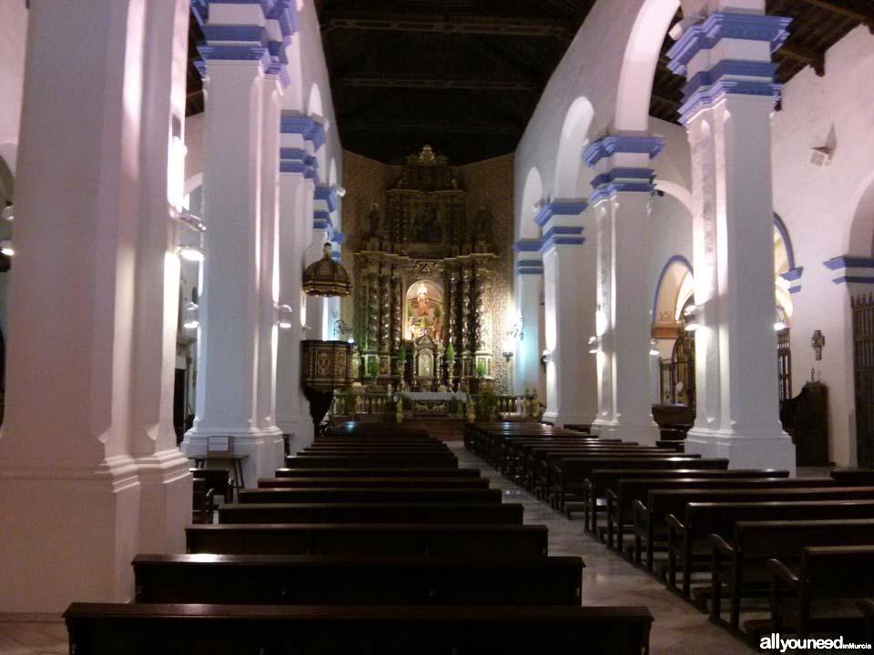 Iglesia de Santiago Apóstol en Totana