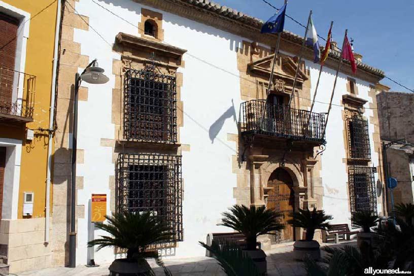 Valle de Ricote. Palacio de Llamas en Ricote