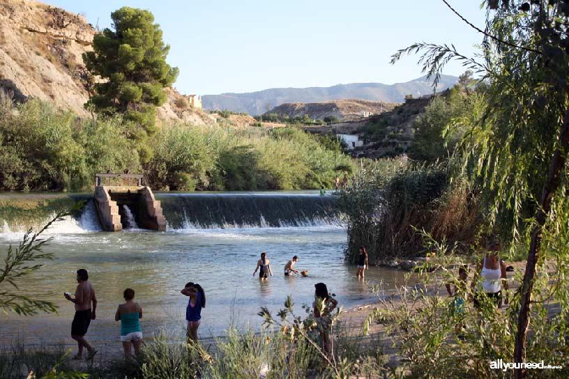 Valle de Ricote. Parque el Jarral y río Segura en Abarán
