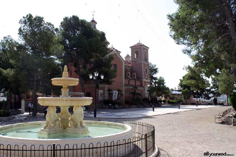 Valle de Ricote. Paseo de la Ermita en Abarán